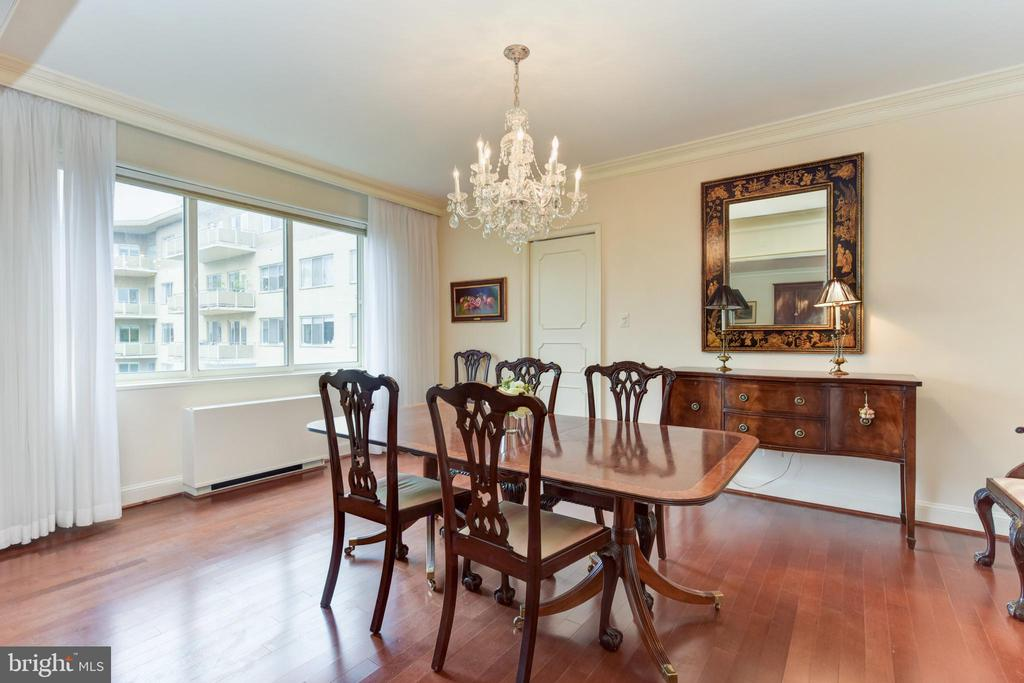 Separate dining room - 2801 NEW MEXICO AVE NW #1211, WASHINGTON