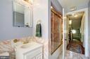 Hall bathroom in main house - 529 4TH ST SE, WASHINGTON