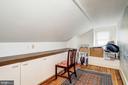 Bedroom on top floor of main house - 529 4TH ST SE, WASHINGTON
