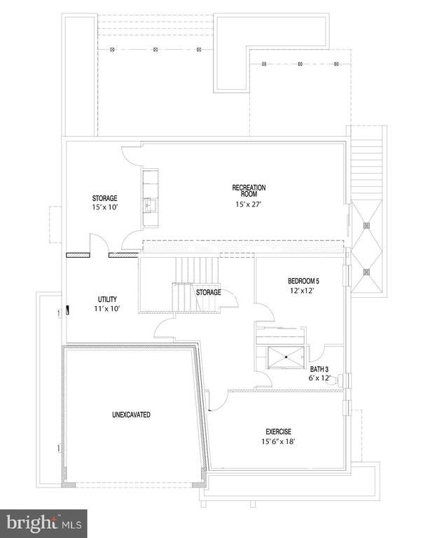 Basement Floorplan - 114 TAPAWINGO RD SW, VIENNA