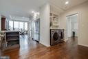 Main Level Laundry - 1300 CRYSTAL DR #PH14S, ARLINGTON