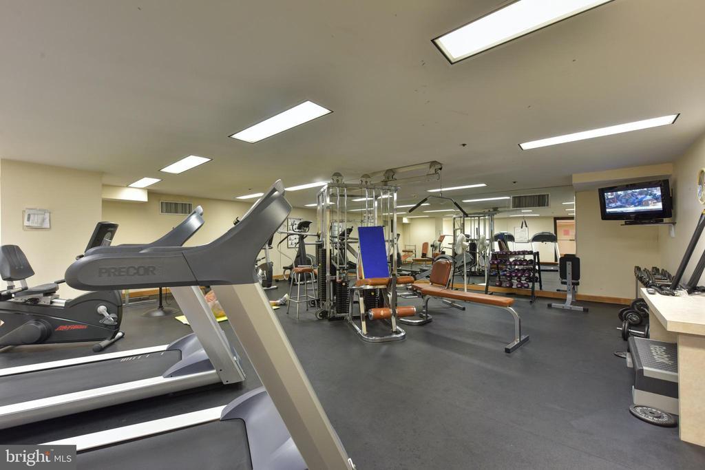 Gym - 1300 CRYSTAL DR #PH14S, ARLINGTON