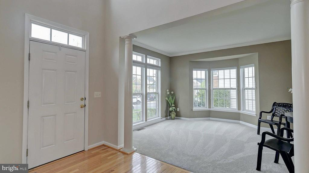 Living Room, new carpet - 43262 LECROY CIR, LEESBURG