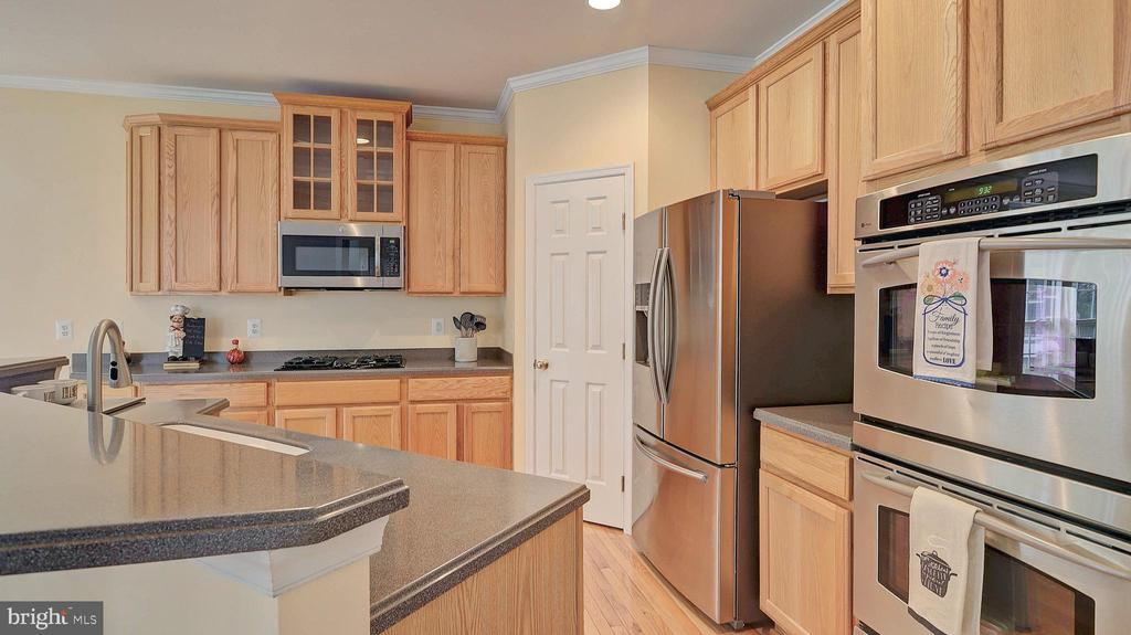 Gourmet Kitchen, stainless steel appliances - 43262 LECROY CIR, LEESBURG