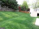 Fenced Backyard - 43262 LECROY CIR, LEESBURG