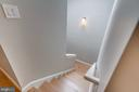Staircase with skylight - 1122 6TH ST NE, WASHINGTON