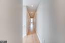 Second floor hallway - 1122 6TH ST NE, WASHINGTON