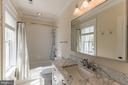 A hall bath serves bedrooms 2 and 3 - 15270 HATTON LANDING DR, NEWBURG