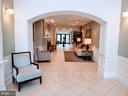 Entry on main level - 24701 BYRNE MEADOW SQ #302, ALDIE