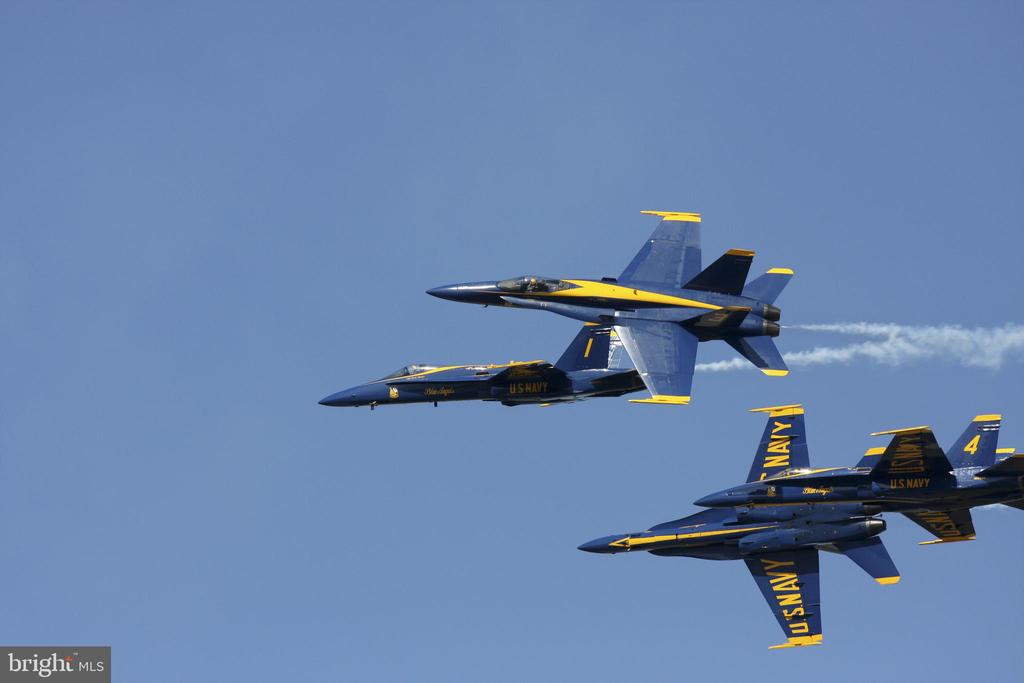 SAYC is the premier vista to enjoy the Blue Angels - 279 STATE ST, ANNAPOLIS