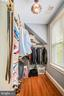 Master Bedroom Walk-in Closet - 27 E MASONIC VIEW AVE, ALEXANDRIA