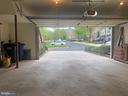 large two car garage - 12222 DORRANCE CT, RESTON