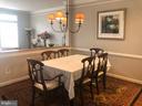 Dining Room - 12222 DORRANCE CT, RESTON