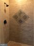 custom tile in the master shower - 12222 DORRANCE CT, RESTON