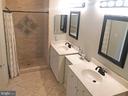 Dual sink Master Bath - 12222 DORRANCE CT, RESTON