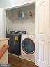 Washing machine on upper level - 12222 DORRANCE CT, RESTON