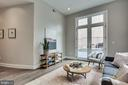 Private entrance with French doors. - 1767 LANIER PL NW #2, WASHINGTON