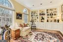 Library with Palladian Windows - 4125 PARKGLEN CT NW, WASHINGTON