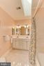 Upper Level Hall Bath with Skylight - 4125 PARKGLEN CT NW, WASHINGTON
