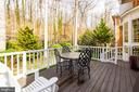 Dining Terrace leads to Professionally Landscaped - 4125 PARKGLEN CT NW, WASHINGTON