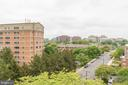 VA views from the rooftop - looking at Courthouse - 2030 N ADAMS ST #208, ARLINGTON