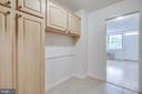 Storage in kitchen, area for an eating nook - 2030 N ADAMS ST #208, ARLINGTON