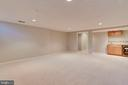 HUGE Lower Level Family Room! - 2106 ROBIN WAY CT, VIENNA