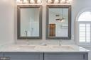 A sink and mirrors for each of you! - 2106 ROBIN WAY CT, VIENNA