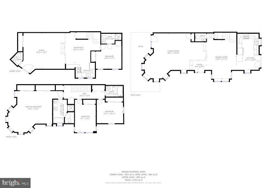 floor plan - 656 9TH ST NE, WASHINGTON