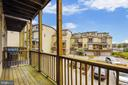 View from Balcony. - 7016 CLINTON CT #22A, ANNAPOLIS