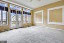 Balcony w/ gorgeous water views of the Marina. - 7016 CLINTON CT #22A, ANNAPOLIS