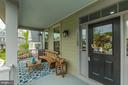 Step up on porch and look around - 17109 GULLWING DR, DUMFRIES