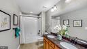 Hall bath - 17109 GULLWING DR, DUMFRIES