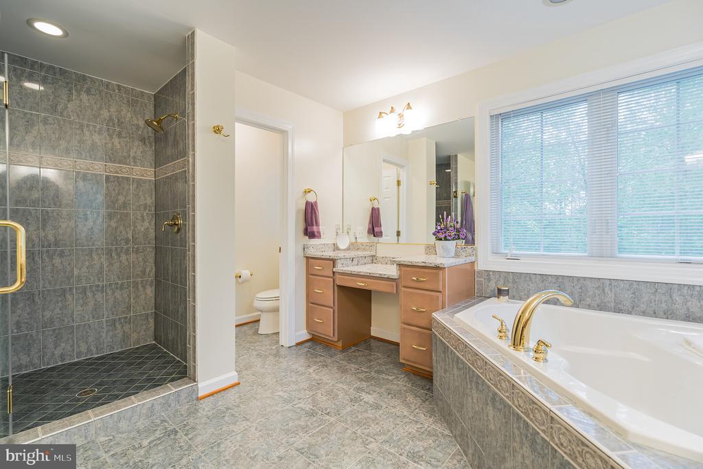 Luxurious master bath - 20 WINDSONG WAY, STAFFORD