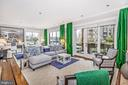 Large windows capturing the waterviews - 12 SPA CREEK LNDG #A, ANNAPOLIS
