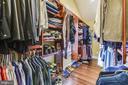 Master closet - 3425 N RANDOLPH ST, ARLINGTON
