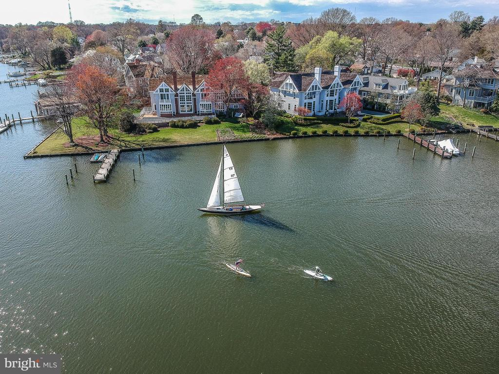 Eastport life-style - watch the sailboats glide by - 12 SPA CREEK LNDG #A, ANNAPOLIS