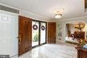 Foyer-notice double doors - 1020 MONROE ST, HERNDON