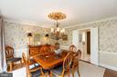 Dining room - 1020 MONROE ST, HERNDON