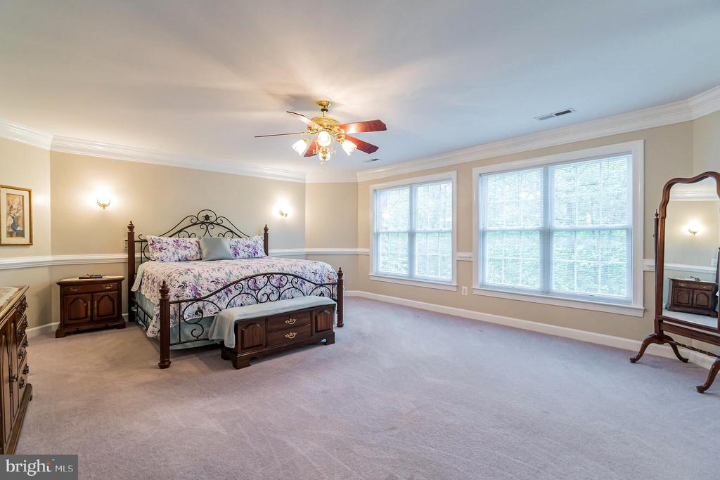 Tons of space in the master bedroom - 20 WINDSONG WAY, STAFFORD