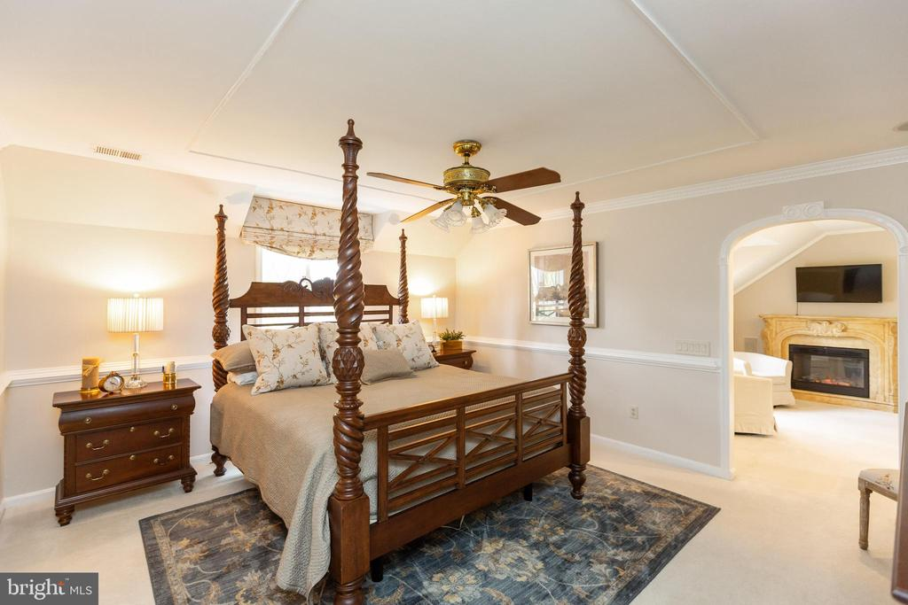 Master Bedroom looking to sitting room - 1020 MONROE ST, HERNDON