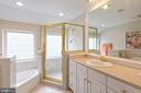 Master bath - 1020 MONROE ST, HERNDON