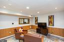 Lower level media room - 1020 MONROE ST, HERNDON