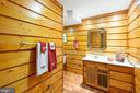 Lower level full bath - 1020 MONROE ST, HERNDON