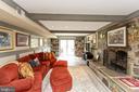 Lower level great room - 1020 MONROE ST, HERNDON