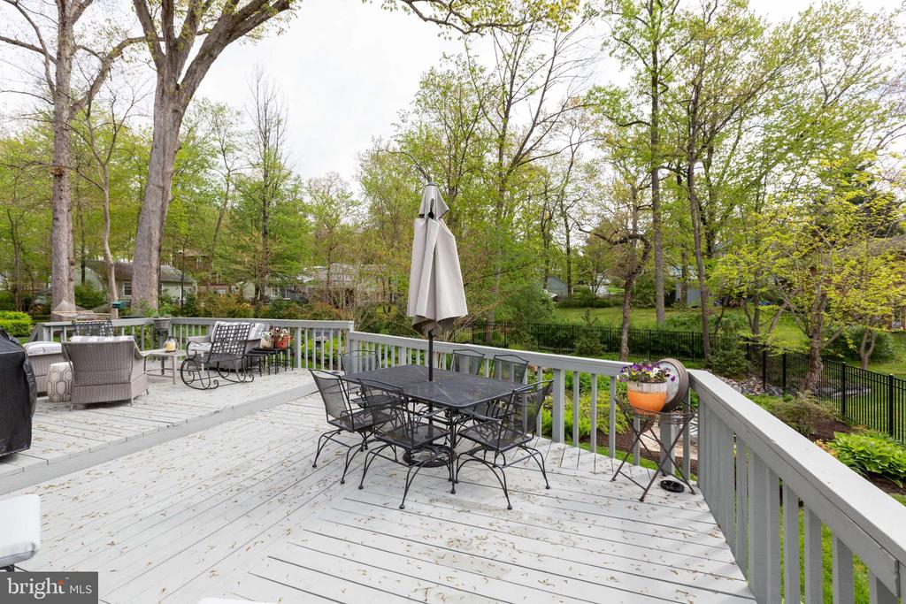 Another deck - 1020 MONROE ST, HERNDON
