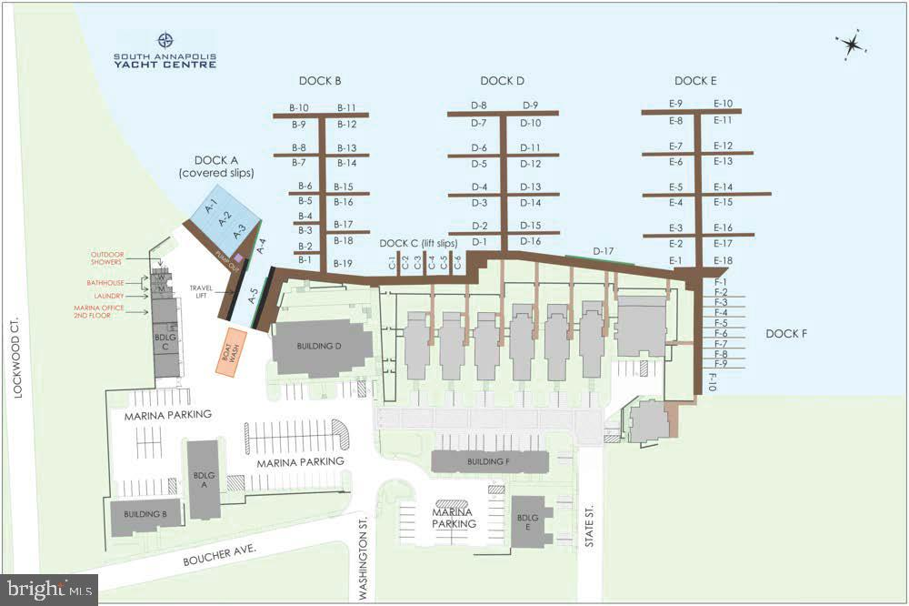 Full service marina w/deep water slips up to 140ft - 289 STATE ST #4, ANNAPOLIS