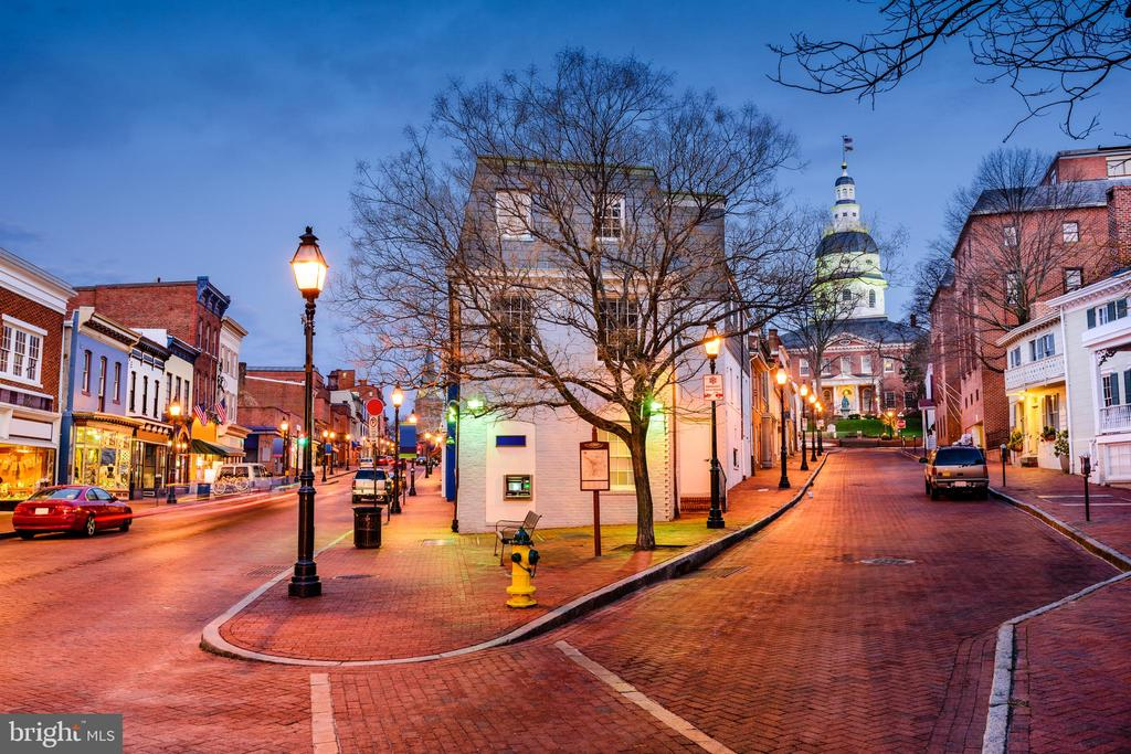 Savor the historic charm of downtown Annapolis - 289 STATE ST #4, ANNAPOLIS