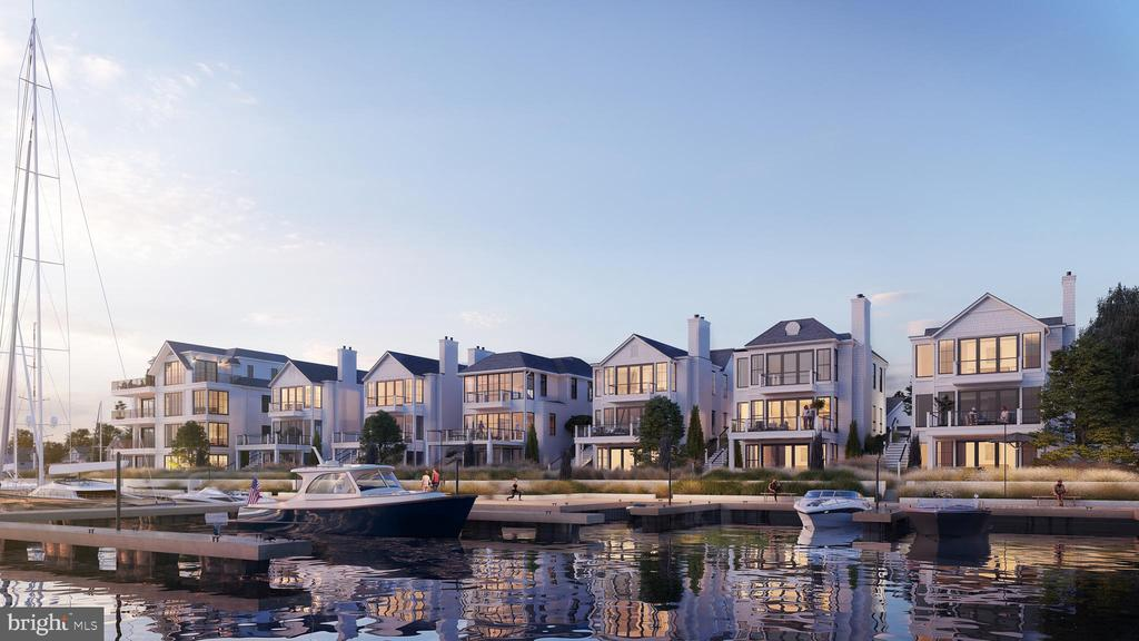 Exclusive waterfront living w/ contemporary design - 287 STATE ST #1, ANNAPOLIS