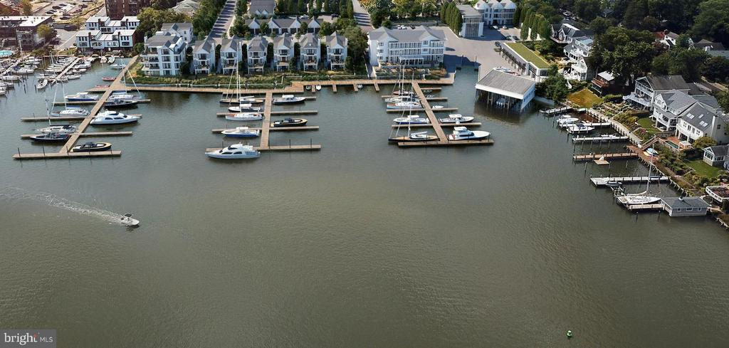 New Deep Water Marina w/ floating docks & 74 slips - 287 STATE ST #1, ANNAPOLIS